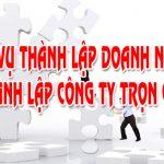 Dịch vụ thành lập công ty có vốn đầu tư nước ngoài tại Hà Nội